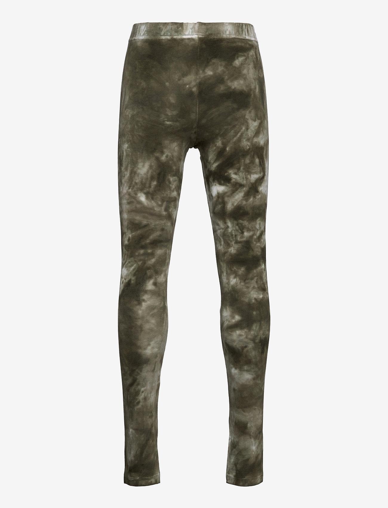 The New - ELSA TIE DYE LEGGINGS - leggings - deep lichen green - 1