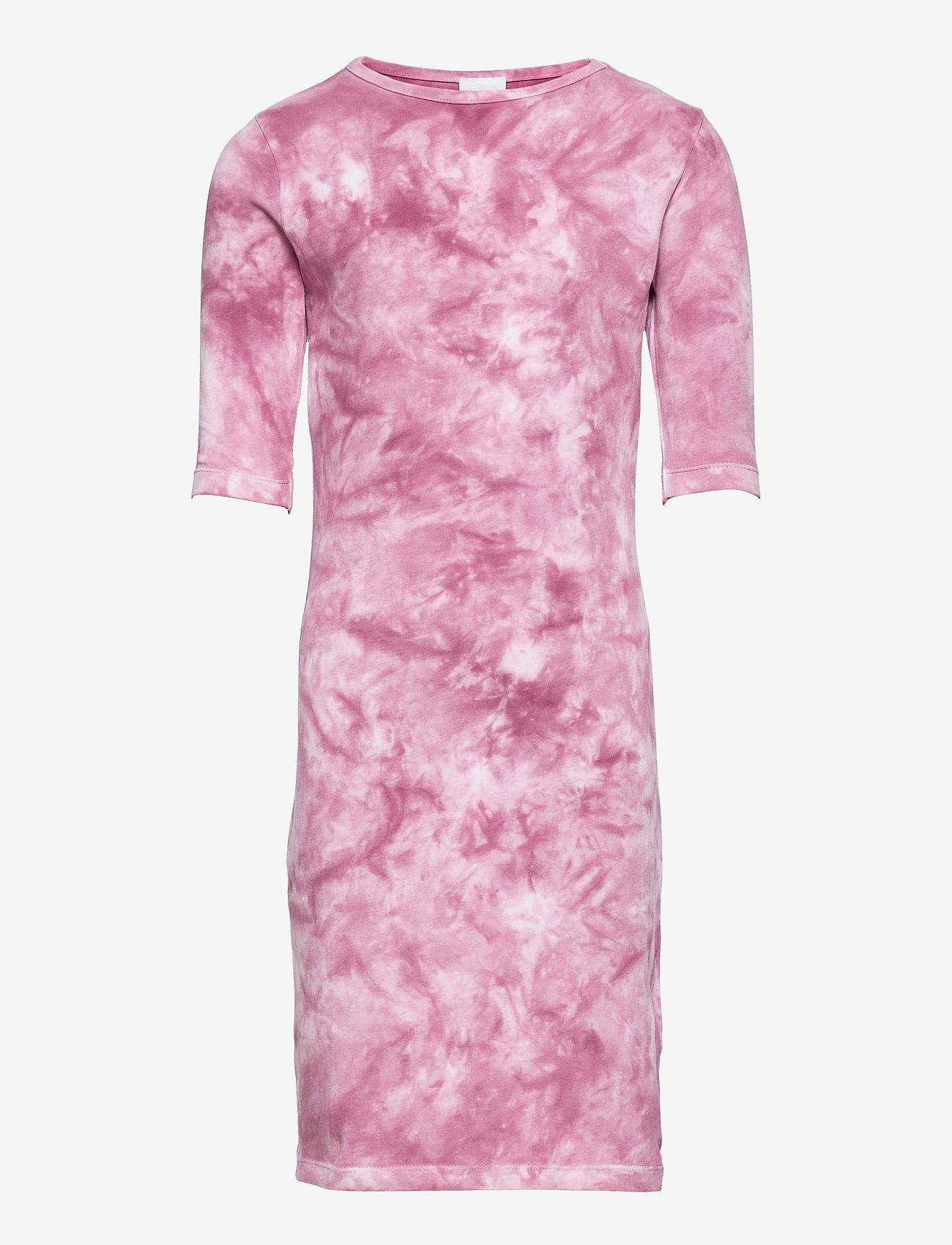 The New - ELSA 1/2 SLEEVE DRESS - kleider - heather rose - 0