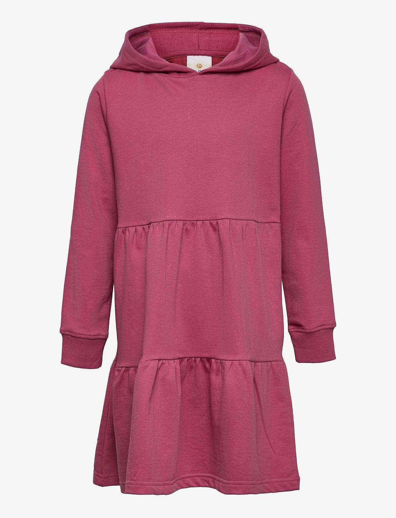 The New - EXIT HOODIE SWEAT DRESS - kjoler & nederdele - heather rose - 0
