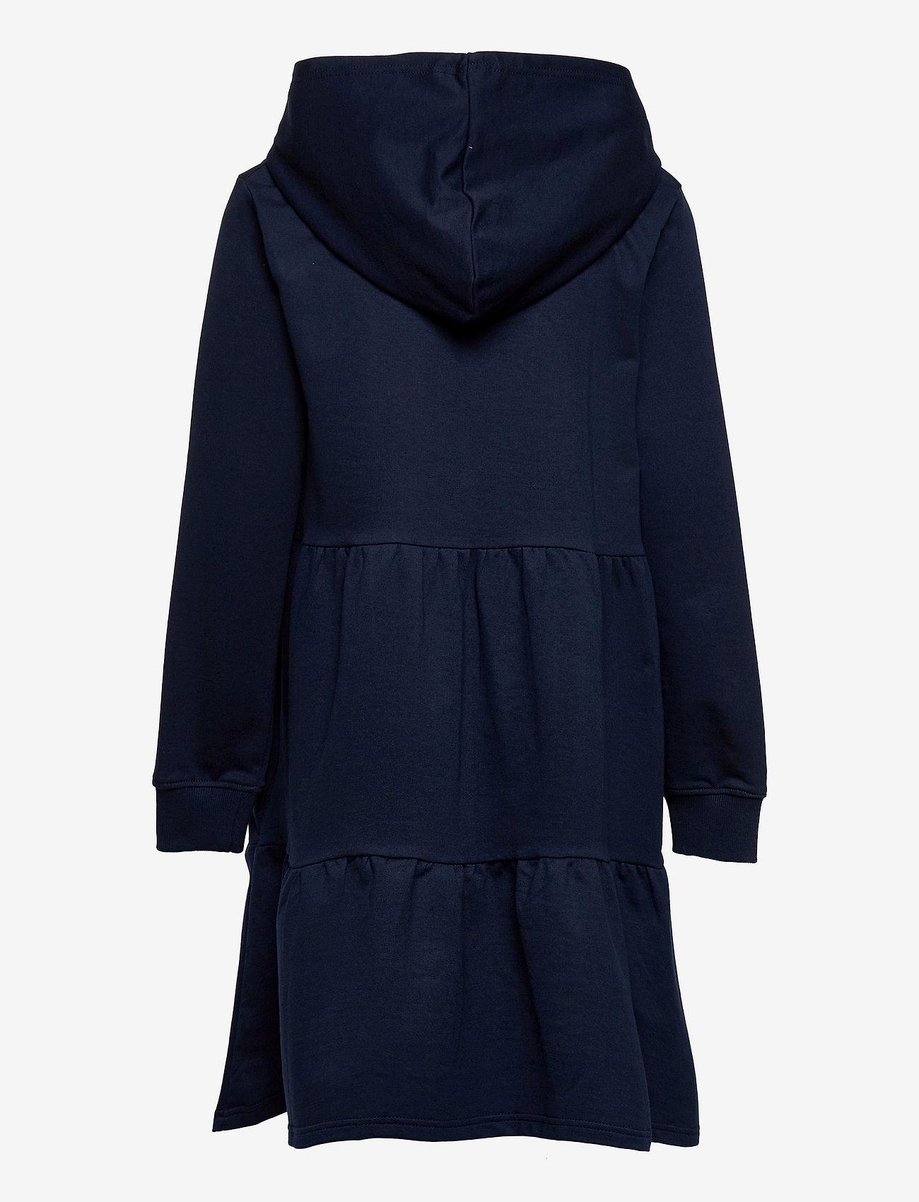 The New - EXIT HOODIE SWEAT DRESS - jurken & rokjes - navy blazer - 1