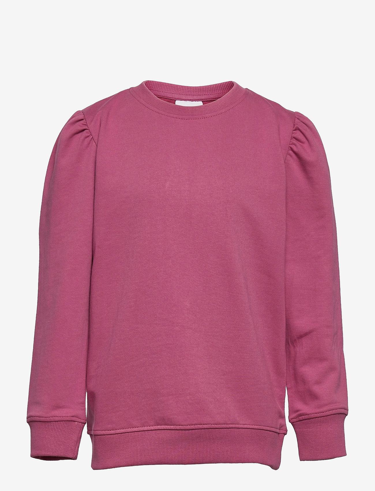 The New - EXIT PUFF SWEATSHIRT - sweatshirts - heather rose - 0