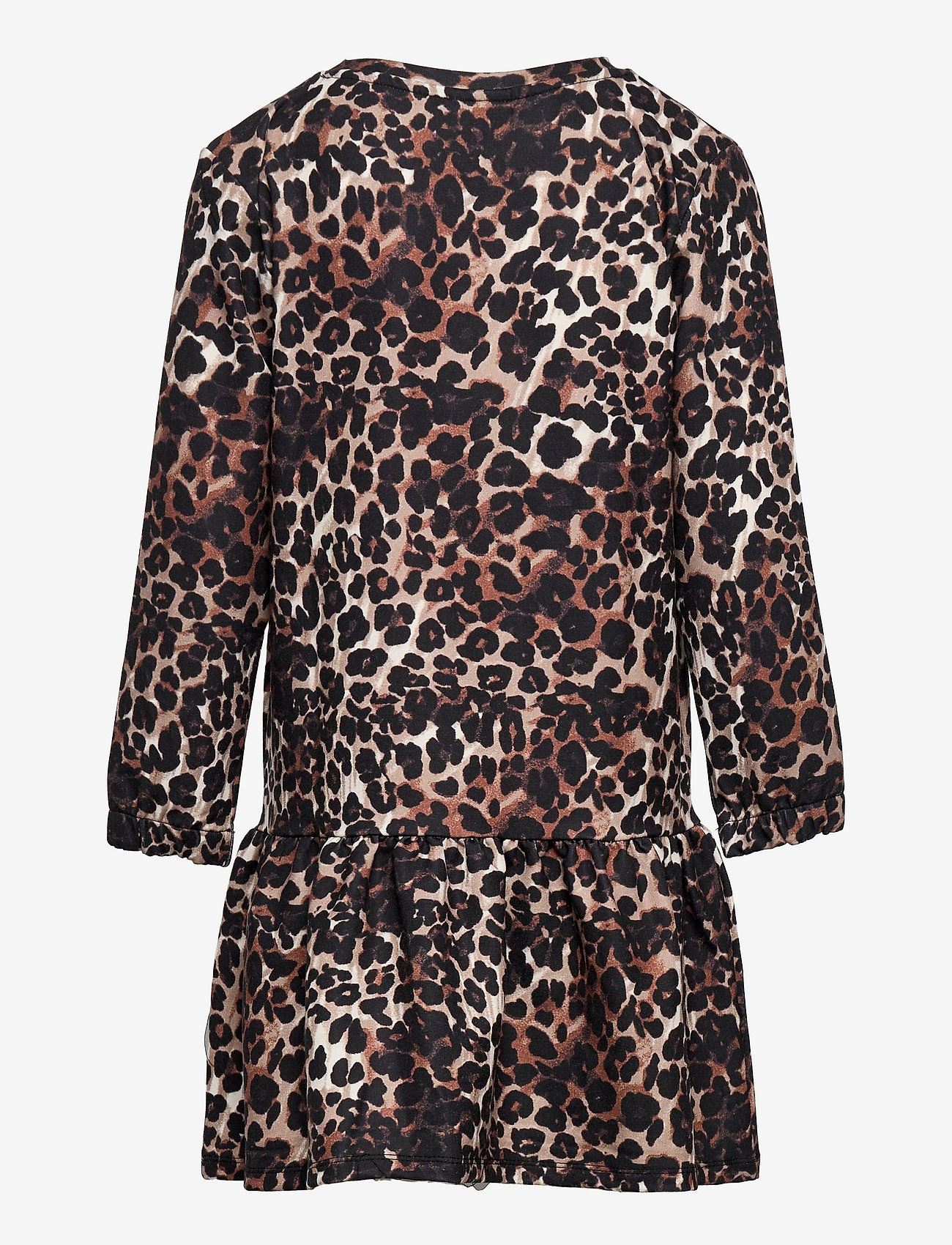 The New - PALEO SWEAT DRESS - kleider - brown leo - 1