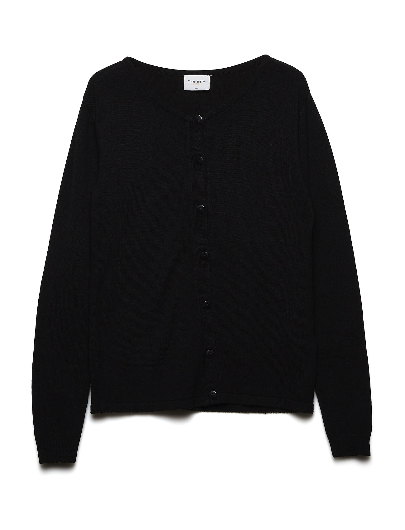The New THE NEW BASIC KNIT CARDIGAN - BLACK