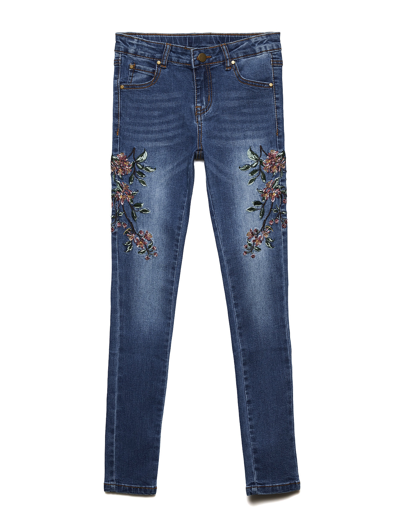 Image of Agnes Embroidery Jeggings (3057313125)