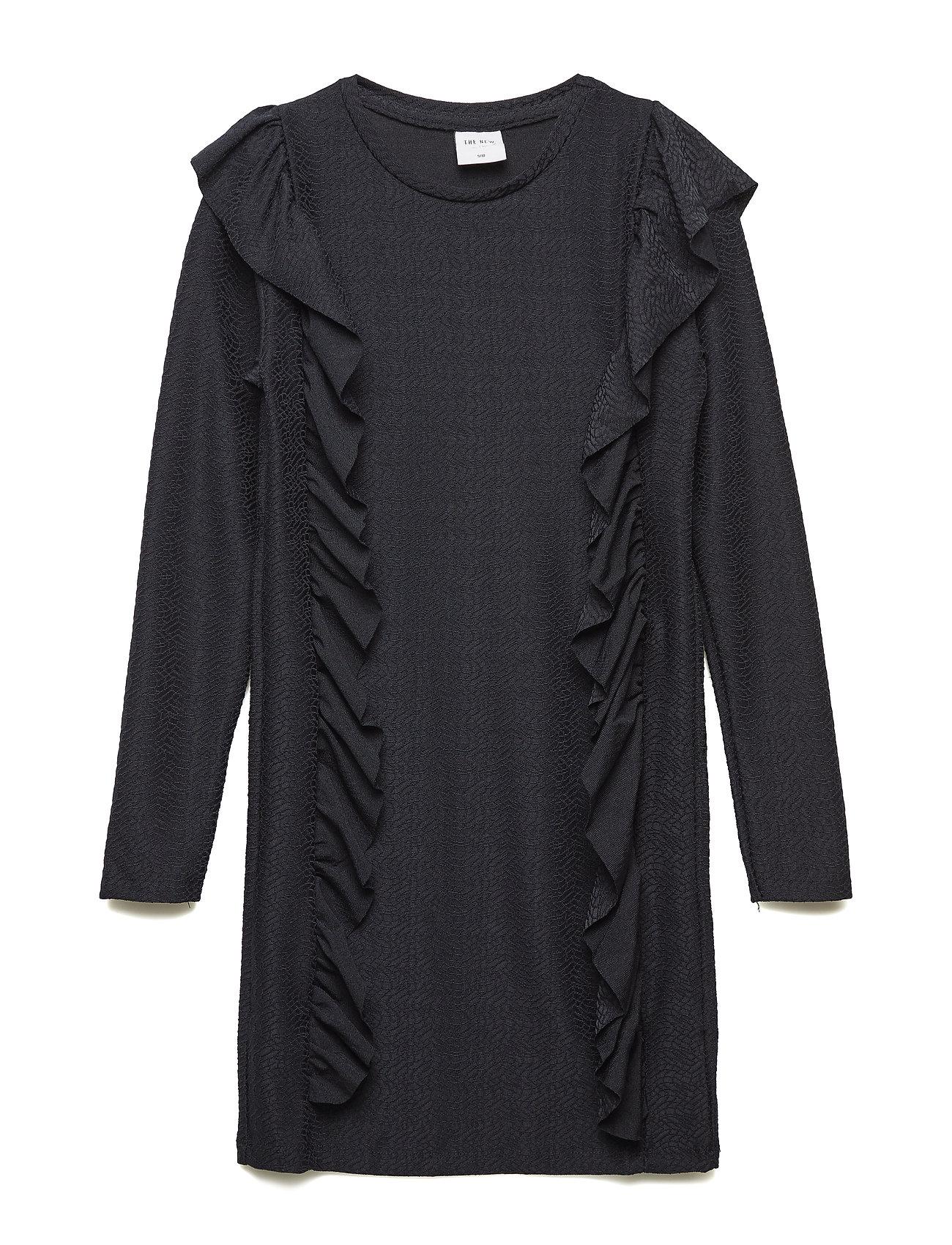 Image of Ida L_s Dress Kjole Sort THE NEW (3072759609)