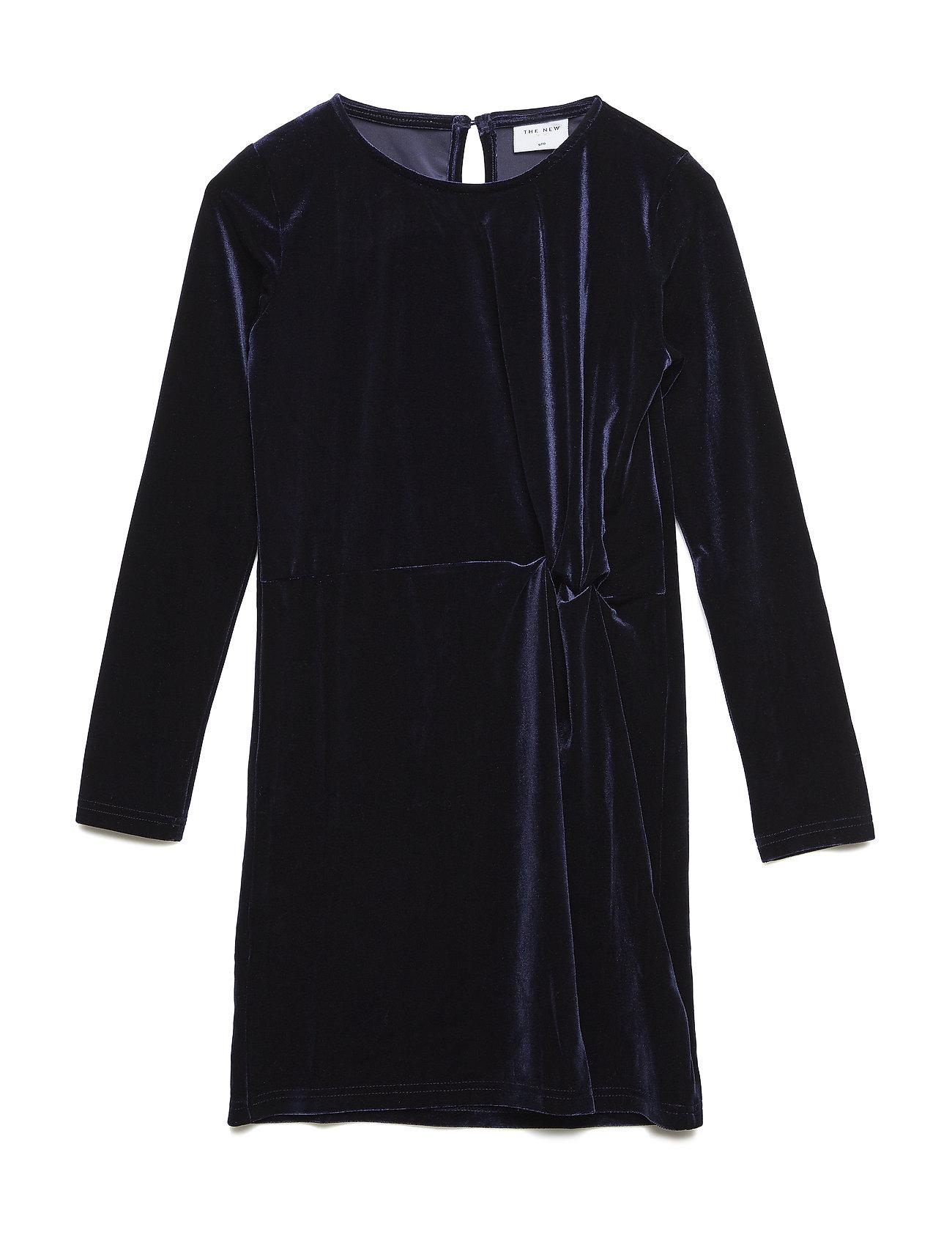The New JILLA L_S DRESS - BLACK IRIS