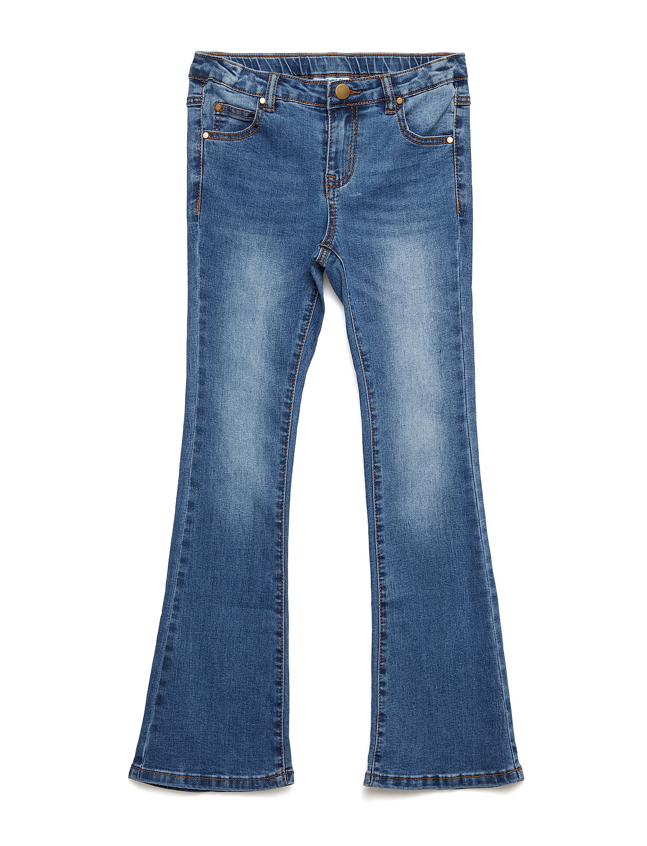 The New THE NEW FLARED JEANS, BLUE DENIM NOOS - LIGHT BLUE DENIM