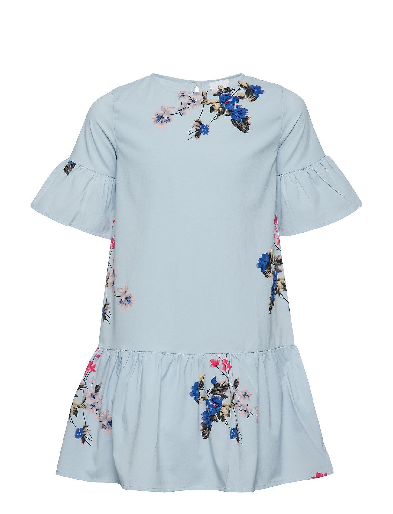 Image of Kerstin S_s Dress Kjole Blå THE NEW (3116344623)