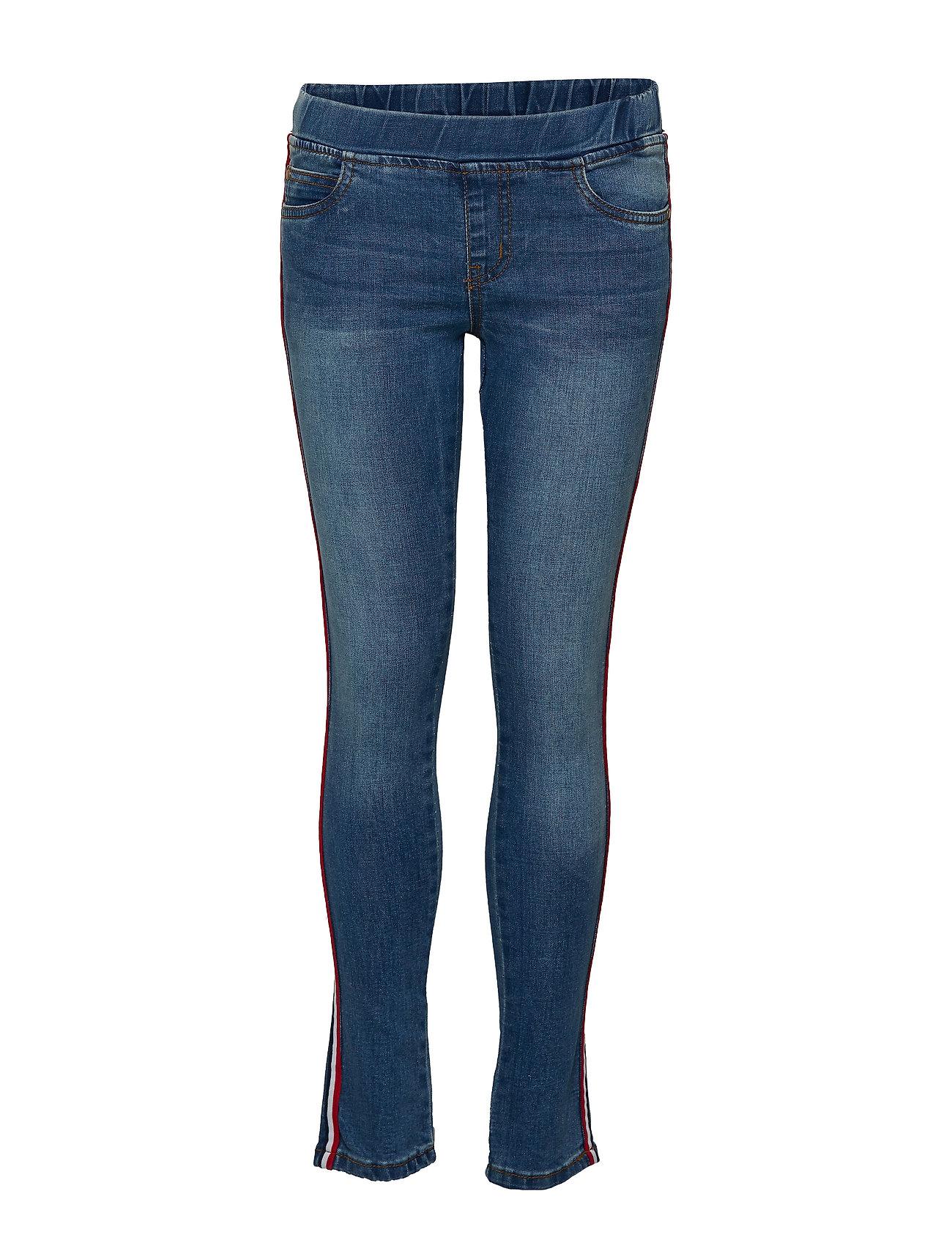 The New KAZY GLEE PANTS - LIGHT BLUE DENIM