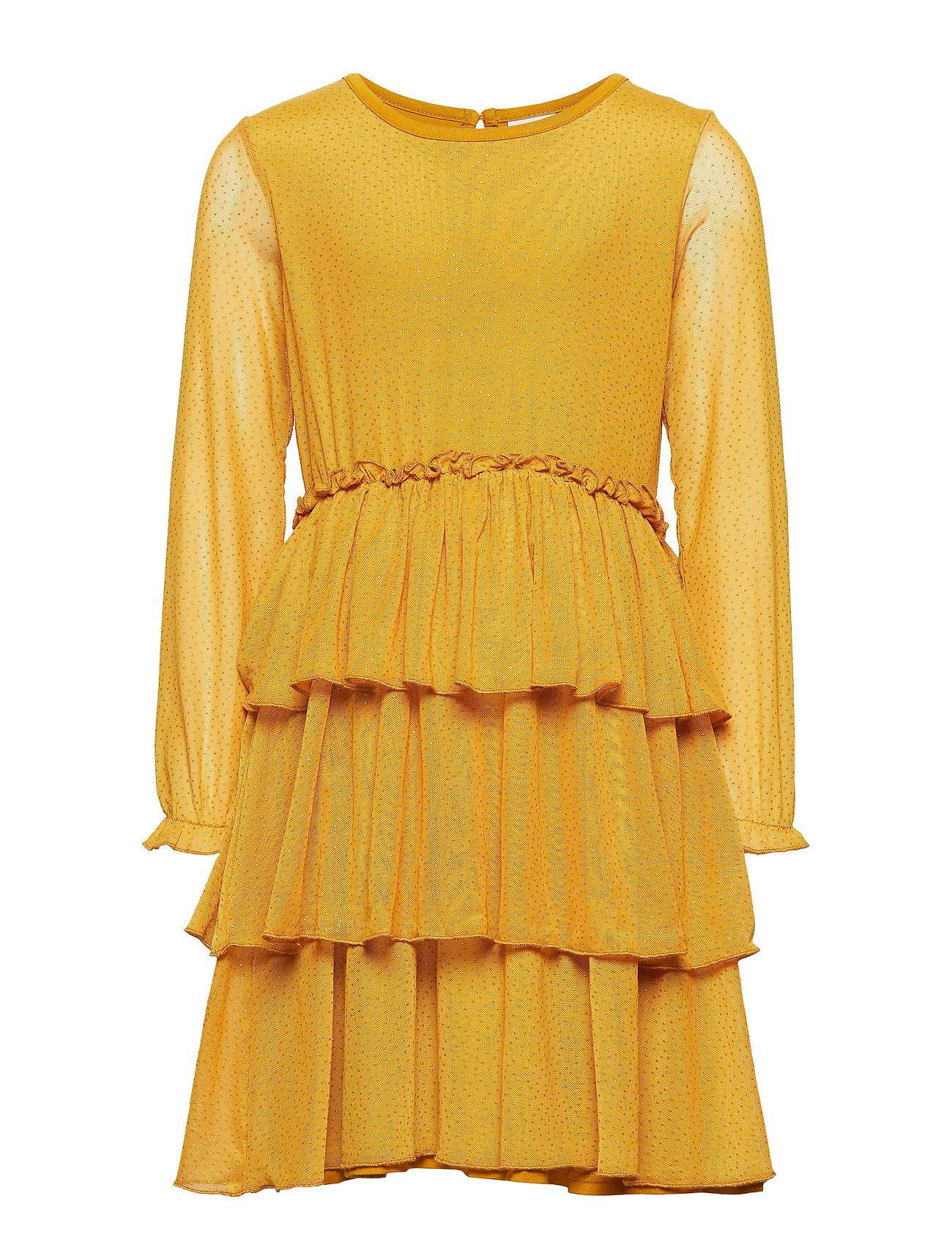 Image of Maise L_s Dress Kjole Gul The New (3215649351)
