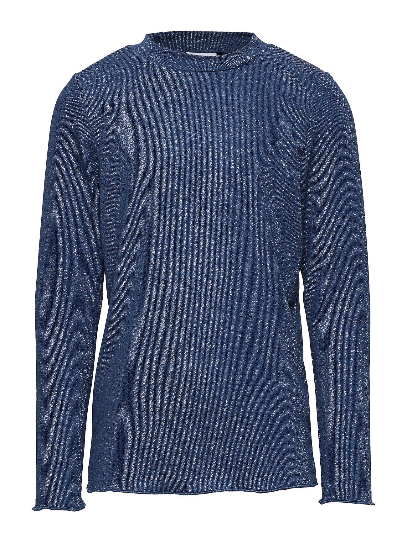 Image of Melly L_s Top Langærmet T-shirt Blå The New (3217408591)