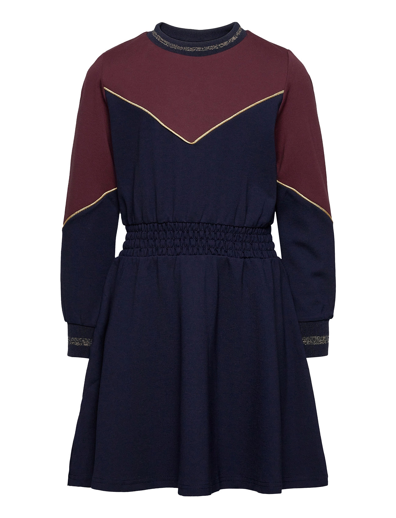 Image of Rosa L_s Dress Kjole Blå The New (3452244411)