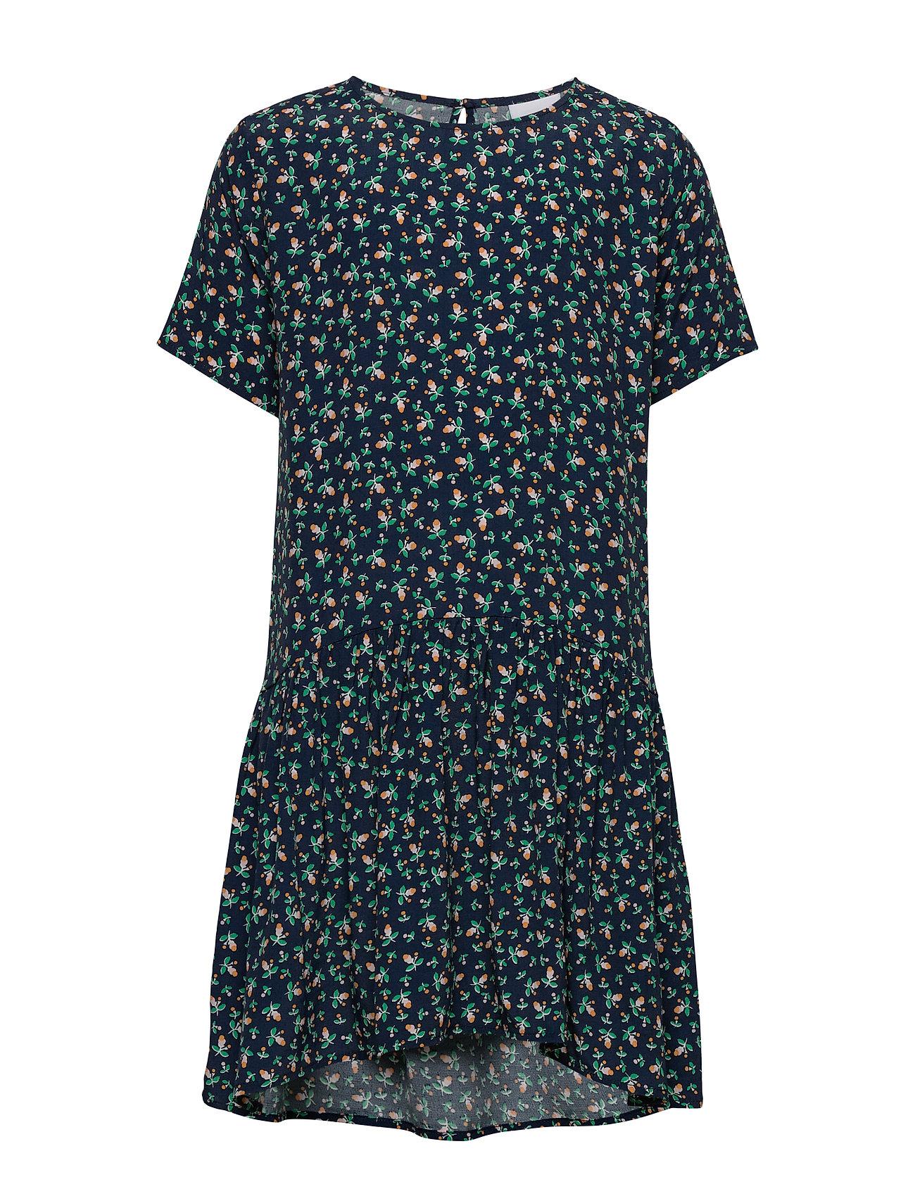 Image of Puk S_s Dress Kjole Blå The New (3410696907)