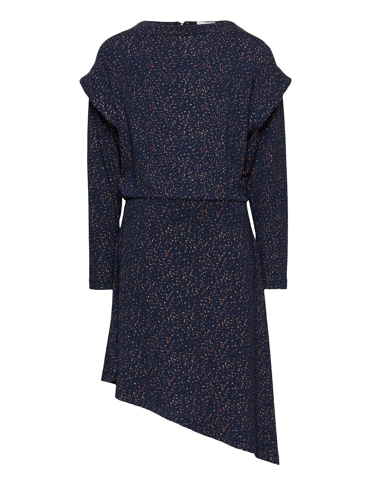 Image of Selma L_s Dress Kjole Blå The New (3490040265)