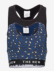 The New - THE NEW TOP 2-PACK - tops - black iris - 0