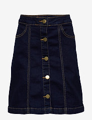 The New - ORVELLE SKIRT - spódnice - dark blue denim - 0