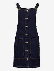 The New - ORVELLE SPENCER DRESS - robes - dark blue denim - 0
