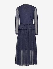The New - ODESSA L_S DRESS COL BLACK IRIS - kleider - black iris - 1