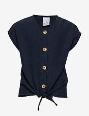 The New - PAM S_S TOP - overhemden - navy blazer - 0