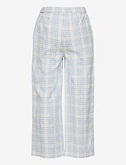 The New - TAMARA WIDE PANTS - trousers - brunnera blue - 1
