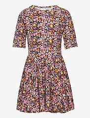 The New - TRY S_S DRESS - jurken - floral aop - 0