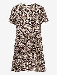 The New - TRINITY S_S DRESS - kleider - leopard - 0
