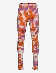 The New - TRILLE TIE DYE LEGGINGS - leggings - nectarine - 0