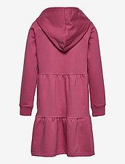 The New - EXIT HOODIE SWEAT DRESS - kjoler & nederdele - heather rose - 1