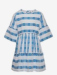The New - OLETTA L_S DRESS - kleider - bright white - 0