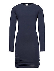 BASIC L_S DRESS NOOS SUSTAINABLE - NAVY BLAZER