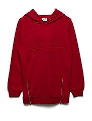 ICCORY SWEATSHIRT TRUE RED - TRUE RED
