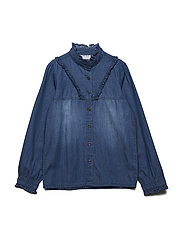 IVILLA L_S SHIRT - LIGHT BLUE DENIM
