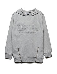 ICCORY SWEATSHIRT LT. GREY MELANGE - LIGHT GREY MELANGE