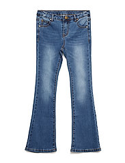 THE NEW FLARED JEANS, BLUE DENIM NOOS - LIGHT BLUE DENIM