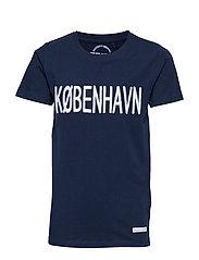 KOBENHAVN S_S TEE - BLACK IRIS