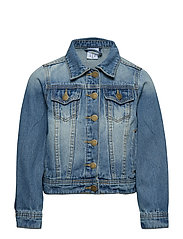 KARYN DENIM JACKET - LIGHT BLUE DENIM