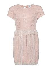 LOVINA S_S DRESS - ADOBE ROSE