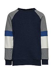 Morgan Sweatshirt Sweat-shirt Tröja Blå THE NEW