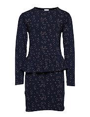 Mandy L_s Dress Klänning Blå THE NEW