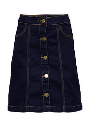 ORVELLE SKIRT - DARK BLUE DENIM