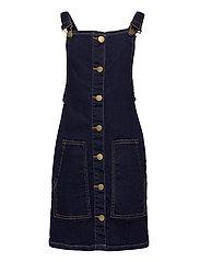 ORVELLE SPENCER DRESS - DARK BLUE DENIM