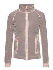 The New PURE MESH JACKET - ADOBE ROSE