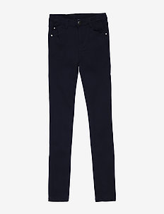 EMMIE STRETCH PANTS - BLACK IRIS