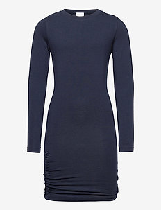 BASIC L_S DRESS NOOS SUSTAINABLE - kjoler - navy blazer