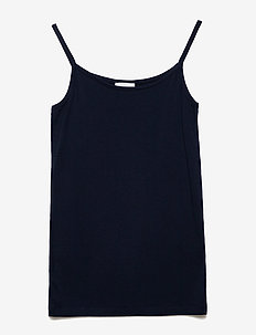 ANUKA TANK TOP - BLACK IRIS