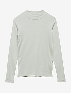 BONNIE L_S TEE - lange mouwen - aqua grey