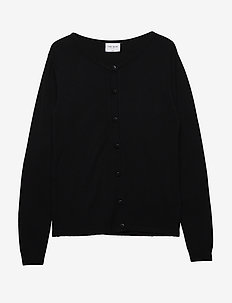 THE NEW BASIC KNIT CARDIGAN - BLACK