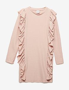 IDA L_S DRESS - ADOBE ROSE