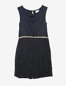 ANNA JO DRESS - BLACK IRIS