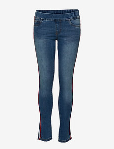 KAZY GLEE PANTS - LIGHT BLUE DENIM